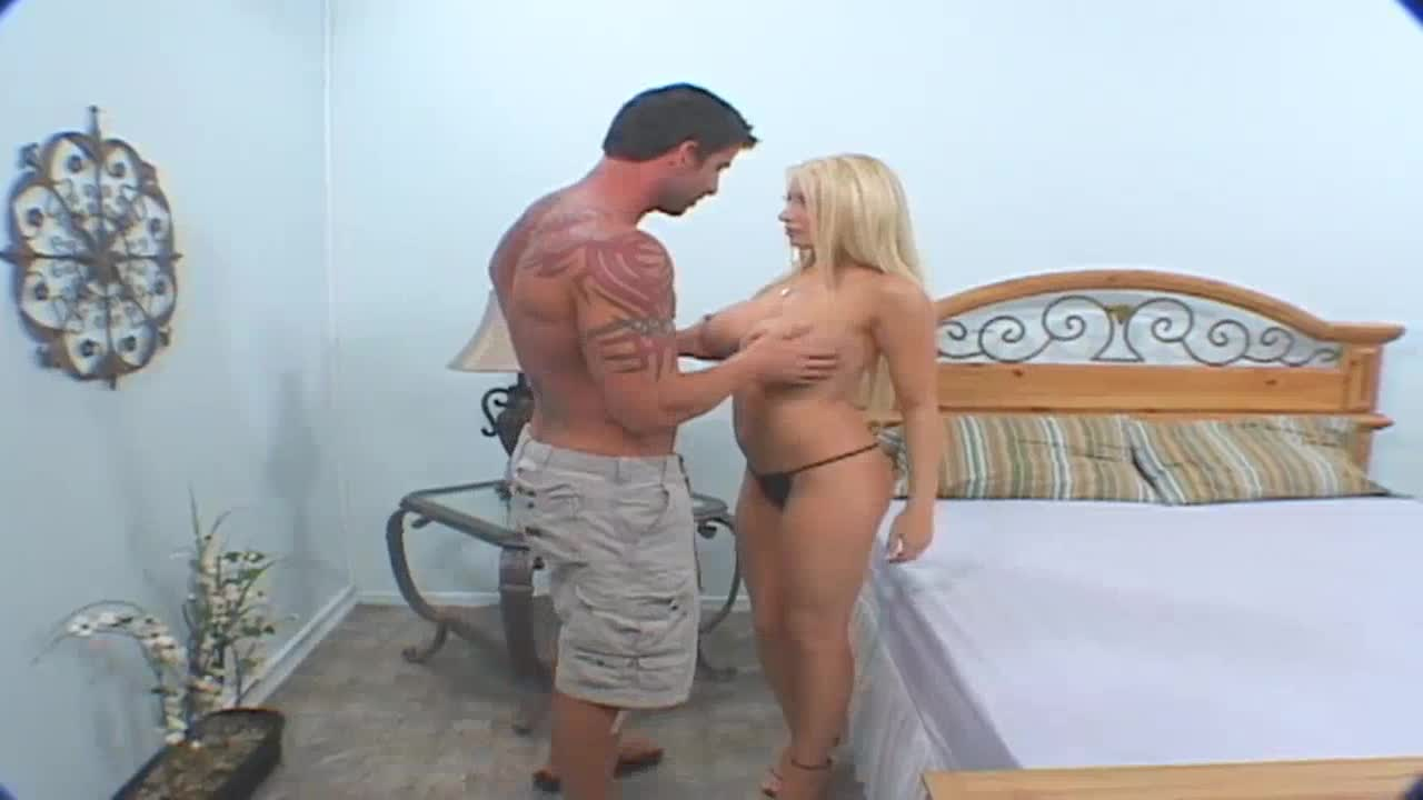 Wife sharing sex video with an erotic blond MILF